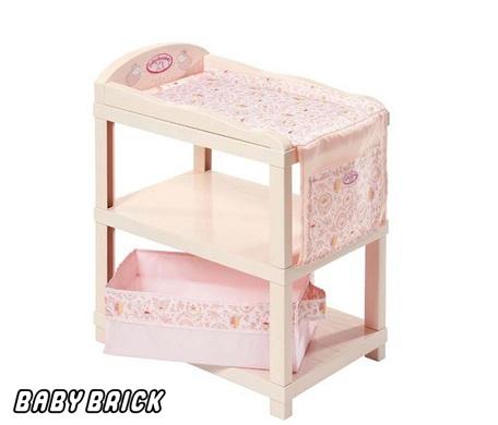 Шкаф деревянный для baby born (zapf creation) шкафчик для куклы очень удобен