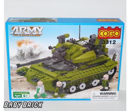 Военная техника 12 серия армия cogo cg3312